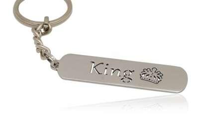 ключодържател с надпис крал